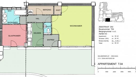 Zeestraat 253, nieuw gerenoveerd en geheel gemeubileerd per 10 december beschikbaar